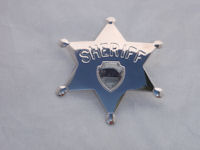 House of Mystery Sherrif's Badge